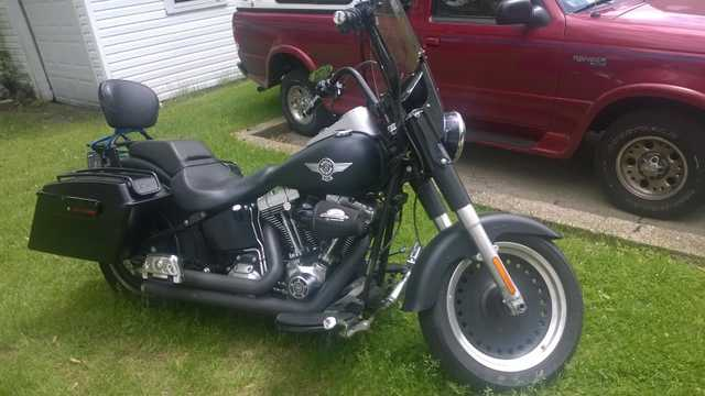 Great Shape 2010 Harley Davidson Fatboy Lo Great Shape