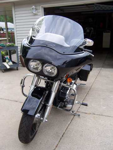 2010 Harley Davidson Roadglide Custom Motorcycle Never Been Down