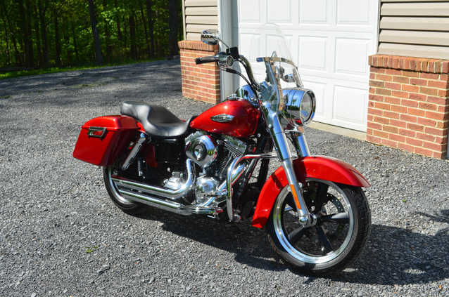 Pristine Conditions 2012 Harley - Davidson Dyna Switchback