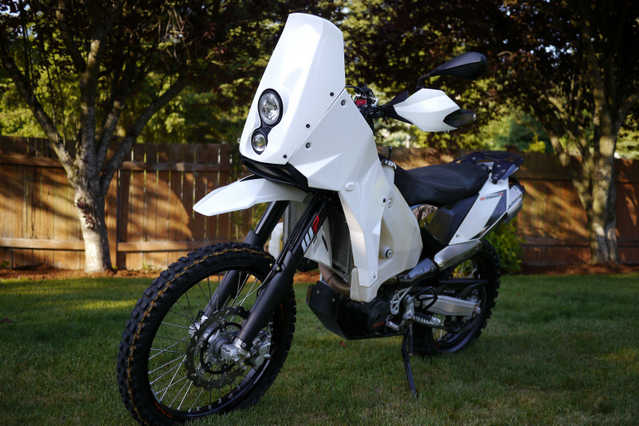 Always Garaged 2012 Ktm 690 Enduro R Evo2 Rally Adventure