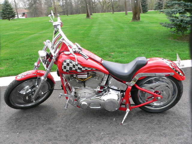 No Accidents 2013 Custom Built Motorcycles Chopper No Accidents
