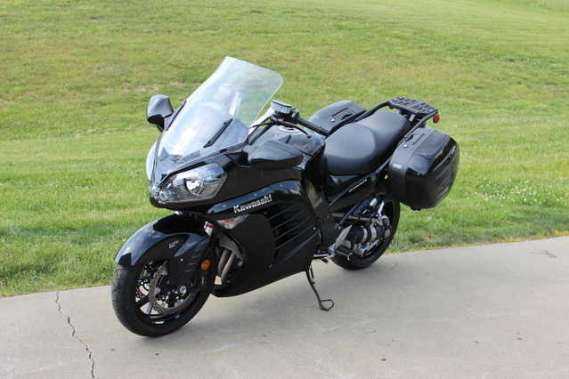 2013 Kawasaki Concours 1400 Abs Immaculate Condition