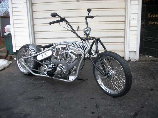 Great Riding 2014 Jesse Rooke Clone Harley Great Riding Condition