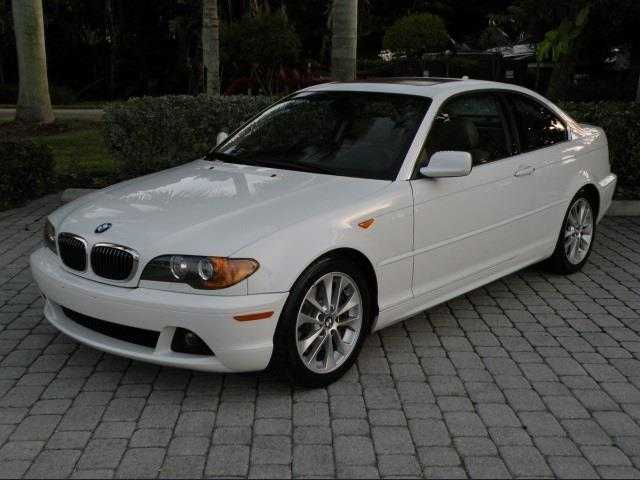 2004 Bmw 330ci Coupe 3 Series Triple White