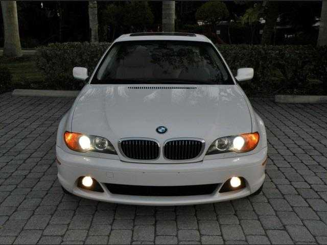 2004 Coupe Bmw 330ci With Low Milage