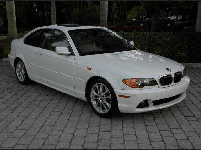 2004 Bmw Coupe W / Sport Package Xenon, Power Moonroof