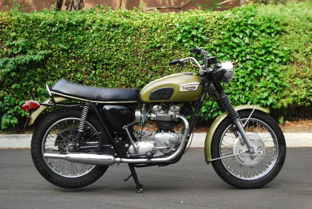 1970 Triumph Tiger Tr6, Totally Original & Runs Perfectly!