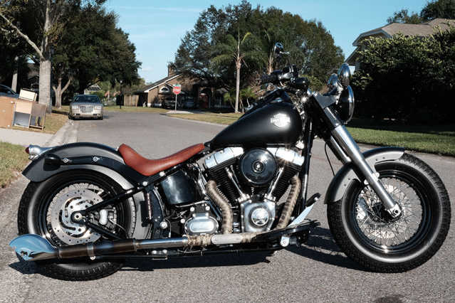 2013 Harley - Davidson Softail At $3000