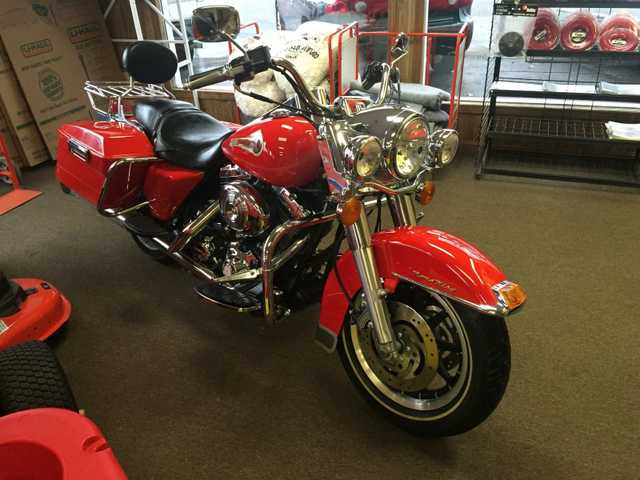 2002 Harley Davidson Roadking Firefighter Special Edition 911