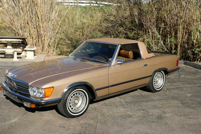 1972 Mercedes Benz 350sl Convertible