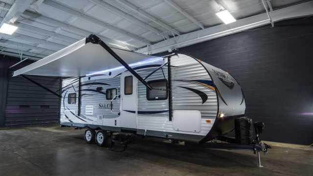 2016 Forest River Salem 26tbud Camper At $3800