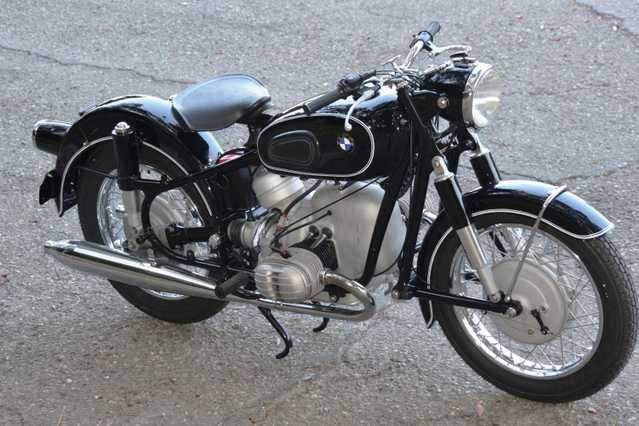 1962 Bmw R60 / 2 Fully Restored