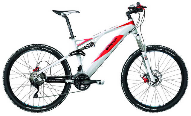 Easy Motion Evo Jumper 27.5 Pro - Full Suspension Electric Mount