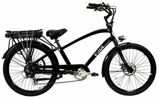 E - Lux Newport - Beach Cruiser Electric Bike
