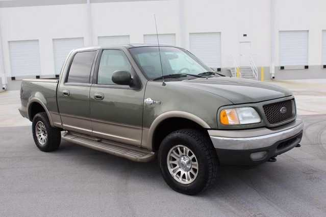 2002 Ford F - 150 King Ranch - 4dr Supercrew King Ranch 4wd Stylesi