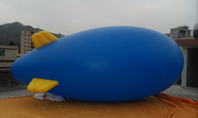 5m / 16ft Giant Inflatable Advertising Blimp / Flying Helium Balloon