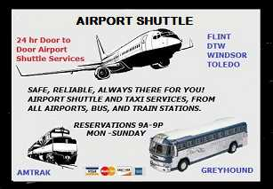 Shores Airport Ride (586) 744 - 3168