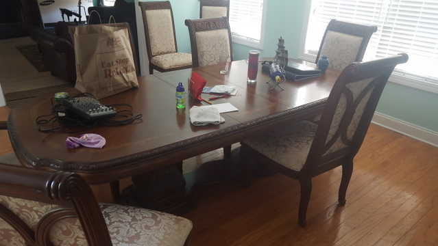 Formal Dining Room Set Solid Wood With 8 Chairs
