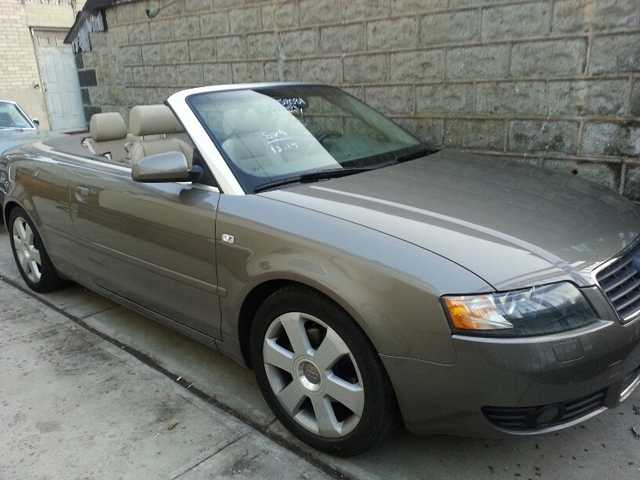 2005 Audi A4 Turbo Cabriolet 2dr 1.8t