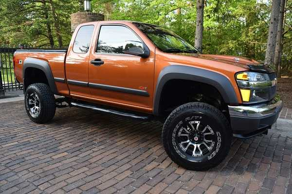 2007 Chevrolet Colorado 4wd Lt