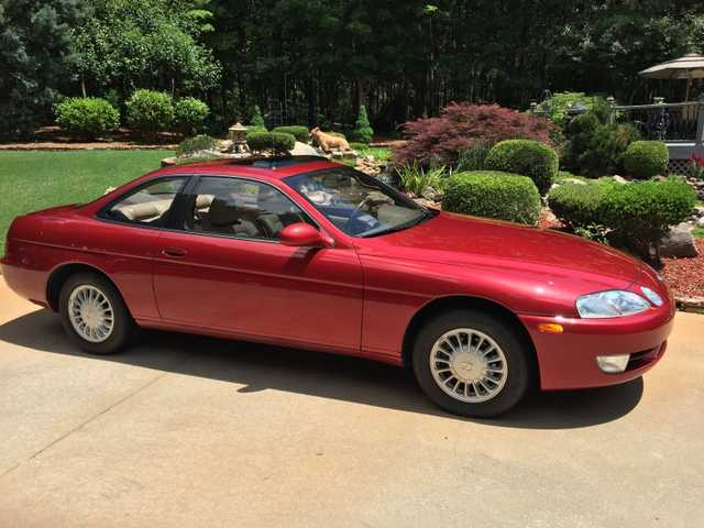 1993 Red Lexus Sc300 One Owner 31k Miles