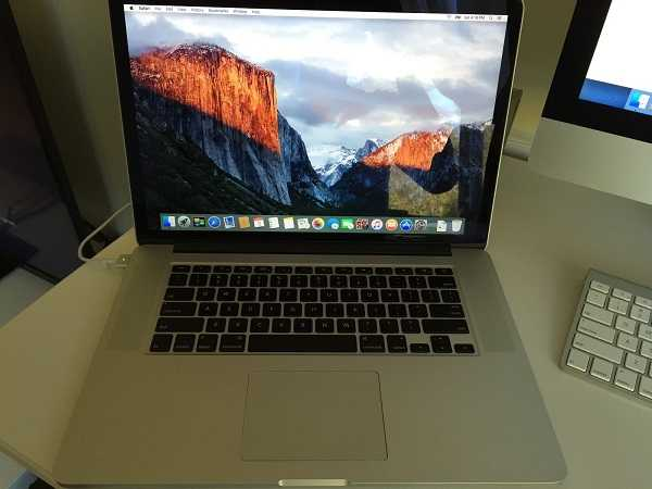 2015 Forcetouch Macbook Pro 15in Retina I7