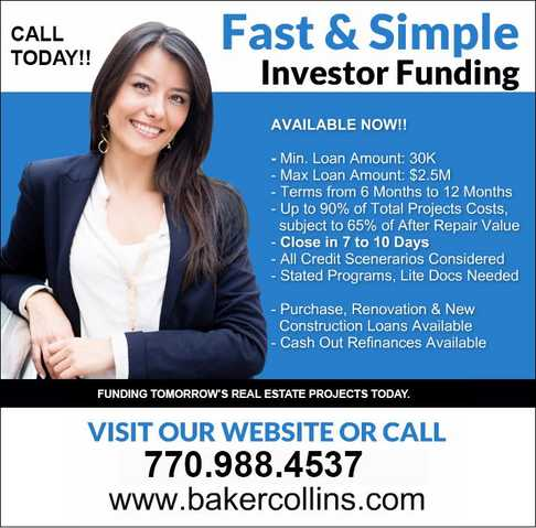 Private Lending - Hard Money - Fast Flexible Funding