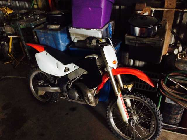 Honda Cr 250 Dirt Bike