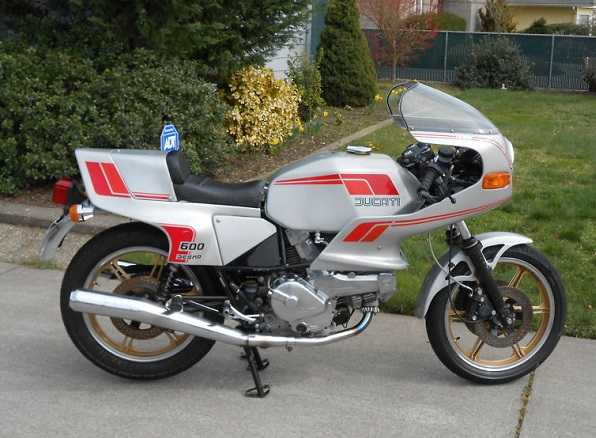 1982 Ducati 600 Sl Pantah Excellent Condition Rare And Unmolested