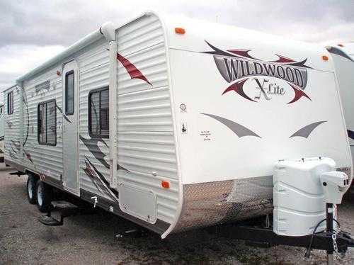 2012 Forest River Wildwood X - Lite 281qb Very Very Good Conditions