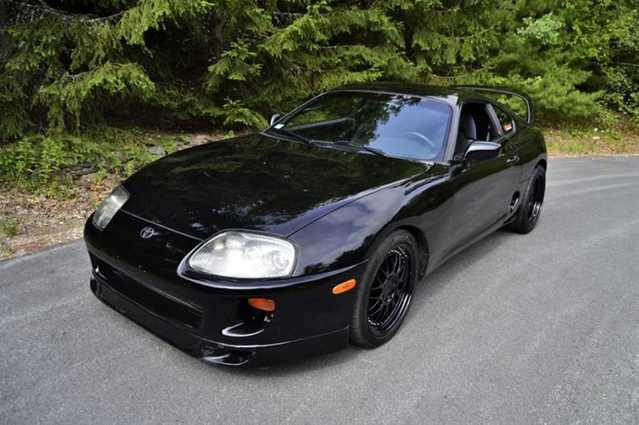 1995 Toyota Supra Se Hardtop Gte Single Gt35r Turbo