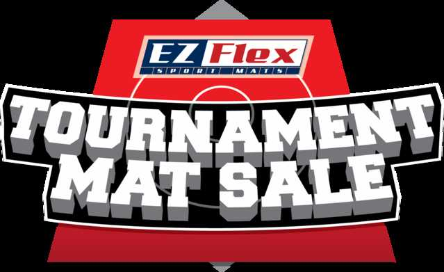 Ez Flex Tournament Mats - These Sell Out Fast!