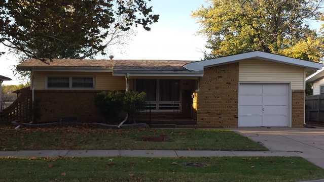 3 Bedroom Ranch For Auction, Wichita, Kansas