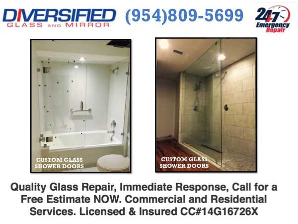 Bathroom Glass Doors Fort Lauderdale, Fl, Shower Enclosures
