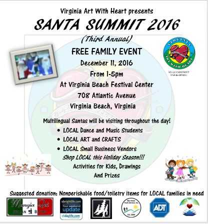 Santa Summit 2016 (Third Annual Santa Summit)