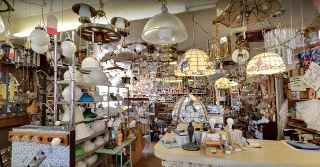 Lighting Store Simonet Electric Auction