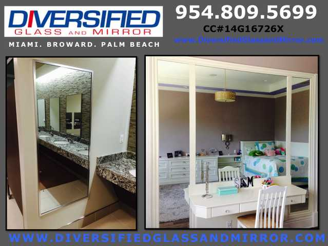 Miami + Coconut Creek, Fl:. Window Reglazing, Glass & Mirror Repai