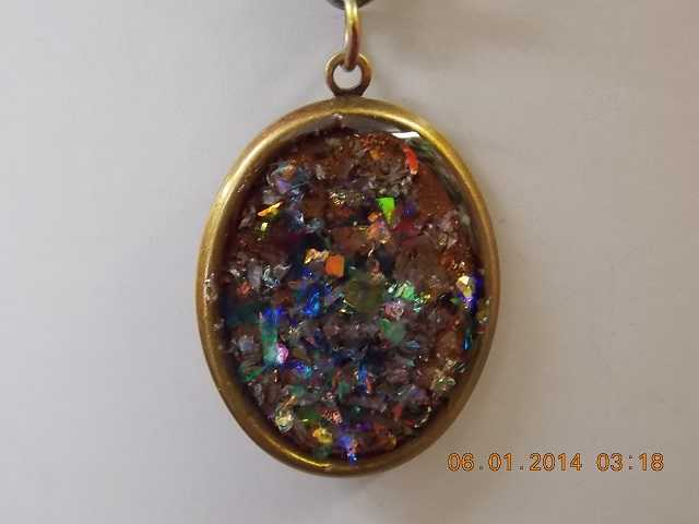Stunning Multicolored Necklace Made Locally