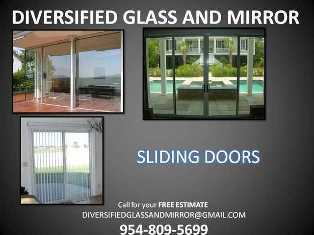 Miami + Weston, Fl:. Mirror Removal & Install, Impact Windows Repa