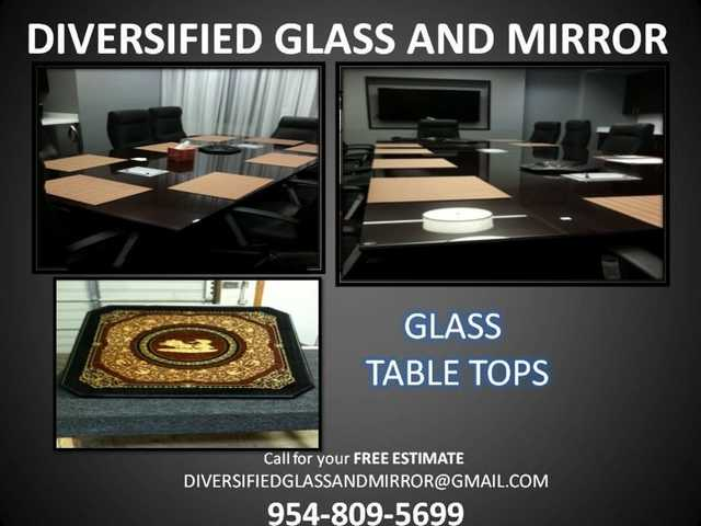 Miami + Davie, Fl:. Glass & Mirror Repair Same Day, Window Install