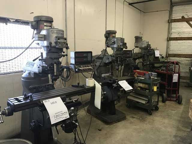 Machine Shop - Precision Metalcraft Auction - 1 / 24 / 17