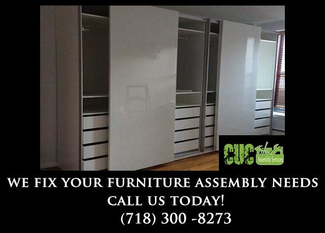 We Fix Your Furniture Assembly Needs
