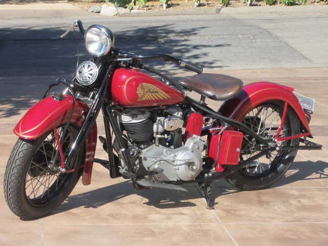 1935 Indian Chief From The Steve Mcqueen Collection