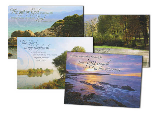 Organize Funeral With Printed Sympathy Cards!