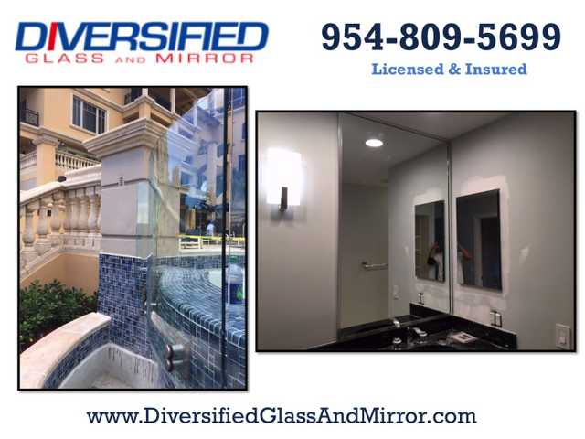 Miami + Tamarac, Fl:. Glass & Mirror, Mirror Installers, Broken M