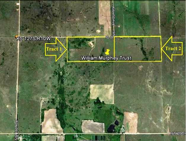 Land Auction ~ 156.7 Acres M / L, Kingman County, Kansas