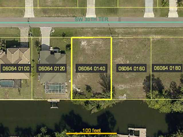 Gulf Access Lot For Sale!