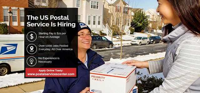 Job Openings In Us Postal Jobs In Your Area - Starting Salary 21$ P