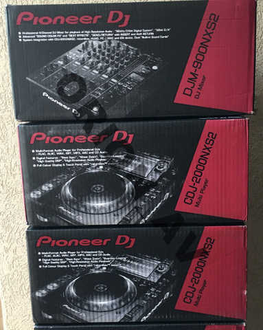 For Sale 2x Pioneer Cdj - 2000 Nexus Plus 1 Djm - 900 Nexus Mixer