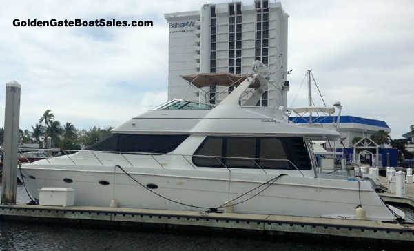 1998 53 Carver 530 Voyager Pilothouse